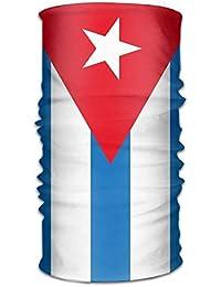 Voxpkrs Para mujer para hombre Sombrero Bandera Cuba Tubo mágico Bufanda Máscaras Cintas para la cabeza