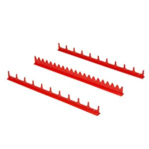 Ernst Manufacturing 6010-Red 20-Tool Screwdriver Rail Set by Ernst Manufacturing