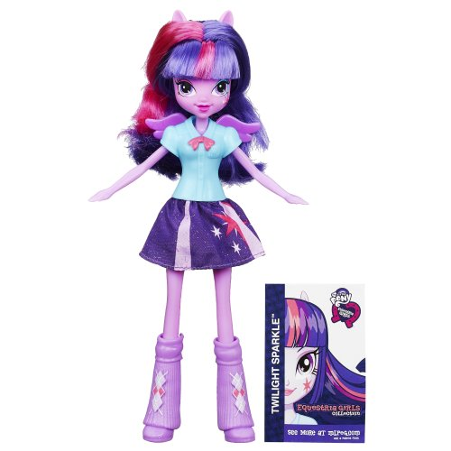 My little Pony Equestria Girls Collection Twilight Sparkle Puppe (Girl Little Rockstar-outfit)
