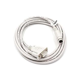 vhbw Câble de raccordement Câble RS232 pour Mitsubishi Melsec FX, FX0N, FX1N, FX2N, FXOS, FX1S, A-Serie