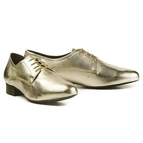 643c60259a50 Buffalo Damen ES 30848 Glitter Derby Gold Ouro - erlebewald.de