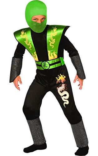 Grüner Ninja Krieger