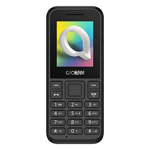 Alcatel onetouch 10.66D Dual SIM schwarz – Mobiltelefon – 4,6 cm, 1066D-2AALDE1