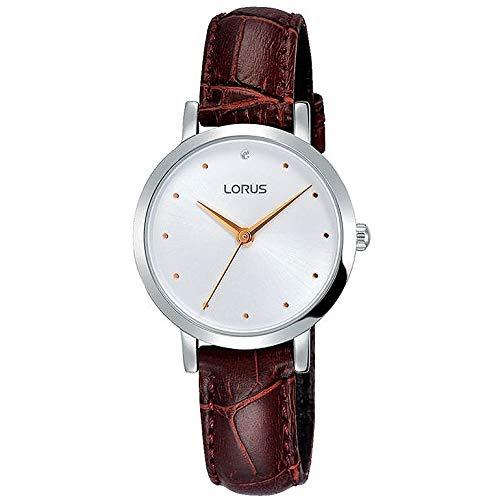 Lorus Reloj Mujer Piel marrón rg257mx9