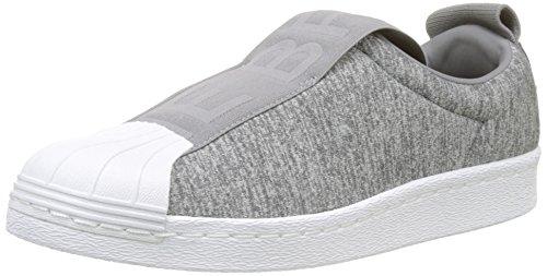 adidas Superstar Bw3S Slipon W, Scarpe da Ginnastica Donna, Grigio (Grey Two F17/Grey Three F17/Ftwr White), 38 EU