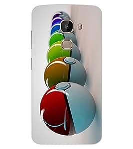 ColourCraft Colourful Balls Design Back Case Cover for LeEco Le 2 Pro