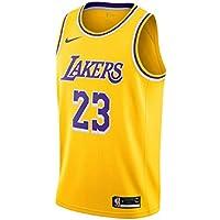Nike Los Angeles Lakers - Camiseta de Manga Corta para Hombre, diseño de Los Angeles