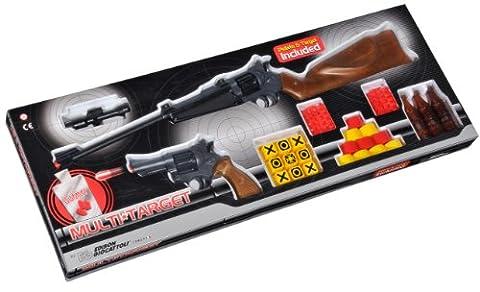 Edison - 62922 - Jeu de Plein Air et Sport - Set Revolver - Multi Target - 73 cm / 22 cm