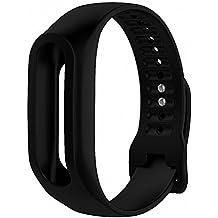 Correa de repuesto de silicona para TomTom Touch Fitness, color negro