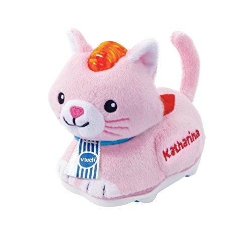 Tap Baby Tiere-Plüsch-Katze pink ()