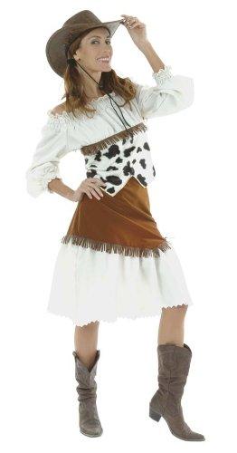 Cesar D338-004 - Western-Lilly Größe 38 (Größeninformation auf Verpackung: T2, Size 10/12, Size (Für Cowboy Kostüm Frauen)