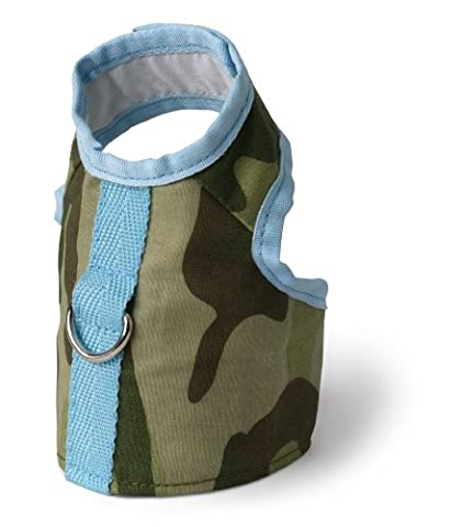 Doggles Harness Vest Teacup Green Camo - HAVCTC10