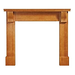 B&Q Durham Waxed Pine Gas or Electric Fire Surround Fireplace Mantle