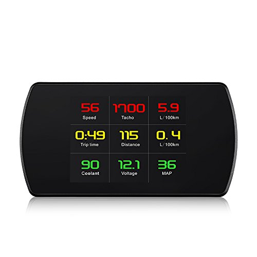 Kreema P12 OBD HUD Head up Display Digital Auto Geschwindigkeit Alarm Bordcomputer OBD2 Geschwindigkeitsmesser Windschutzscheibe Projector