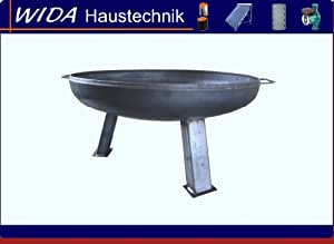 Feuerschale Ø 850 mm Grillschale 85 cm Wandstärke 3 mm