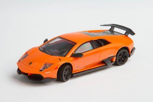 Invento just play 50008218 RC : License Edition : Lamborghini Murcielago LP 670-4, Voiture télécommandée, Orange