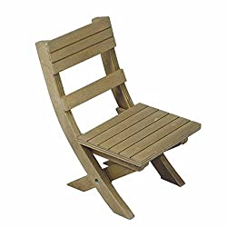 Adventure Camp Rustic Wooden Folding Chair, For Camping In Comfort And Style, Furniture Fits 18