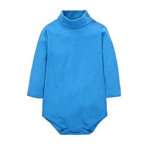 cuteon-bebes-chicos-chicas-color-solido-basic-turtleneck-algodon-body-mono-azul-6-meses