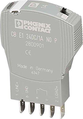 PHOENIX CB E1 24DC/6A NO-P - INTERRUPTOR PROTECCION ELECTRONICO CB E1 24DC/6A NO-P