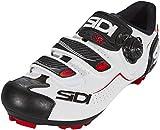 SIDI Trace 2020 - Scarpe da Uomo, Colore: Bianco, (White/Black/Red), 47 EU