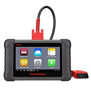 Autel Maxidas DS808 (Upgraded Version of DS708 and MK808) Automotive Diagnostic Tool Scanner with Key Coding and Multi-language System (Same Function as MS906)