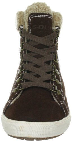 s.Oliver Casual 5-5-25227-29 Damen Fashion Sneakers Braun (CAFE 361)