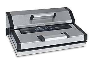 Caso fastvac 3000Gewerbe Machine à emballer sous-vide (180W, Pompe à Vide: 20L/minute), Sacs et rouleaux jusqu'à 30cm Largeur