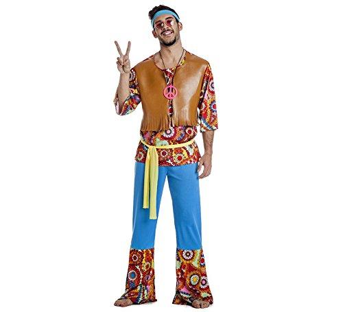 Disfraz de Hippie Hombre talla M/L