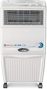 Bajaj TC2007 37-Litre Tower Air Cooler (White)- for Medium Room