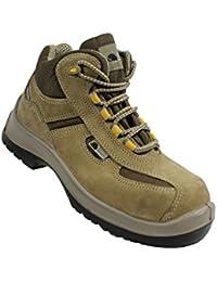 Sécurité Siili - Chaussures De Protection Homme Vert En Cuir, Vert, Taille 45 Eu