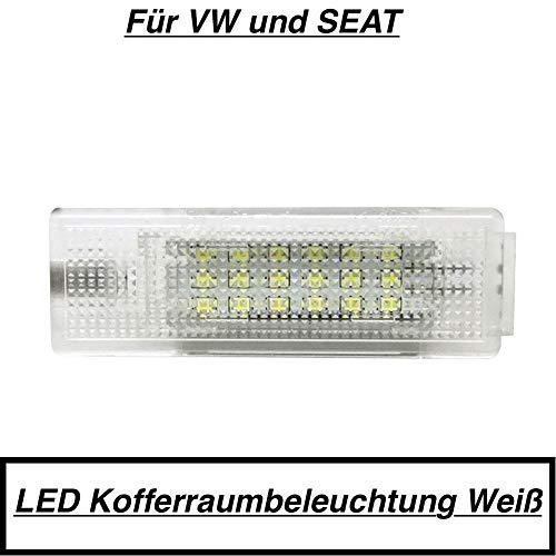1x 18 SMD LED MODUL Kofferraumbeleuchtung 6000K WEIß (7406VW)