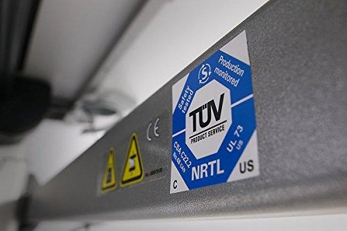 Elektromotorisch höhenverstellbarer Arbeitstisch XXL 200x100 cm ahorn -