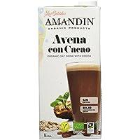 Amandin 400085 - Bebida de Avena con Cacao - Paquete de 6 x 1000 ml - Total: 6000 ml