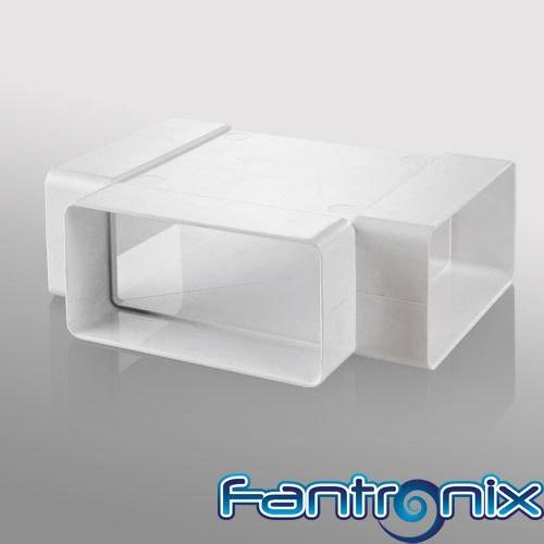 union-tipo-t-para-campana-extractora-sistema-de-ventilacion-plana-55x110mm