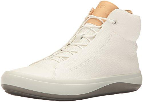 Ecco Tan Kinhin Herren White Veg Hohe Sneaker Weiß OUSwOqa