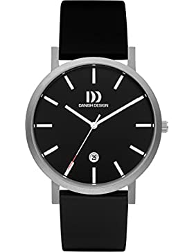 Danish Design Unisex-Armbanduhr DANISH DESIGN IQ13Q1108 Analog Quarz Leder IQ13Q1108