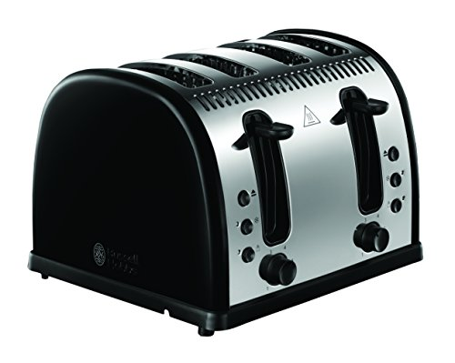 Russell Hobbs Legacy 4-Slice Toaster - Black Best Price and Cheapest
