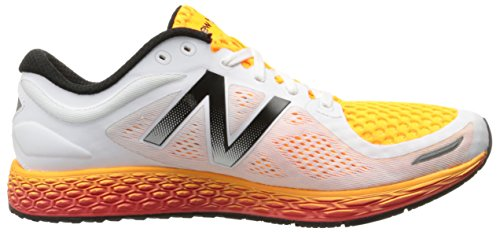 New Balance Men's MZANTEV2 Running Shoe, White/Impulse, 12.5 D US Multicolore (White/Impulse 832)