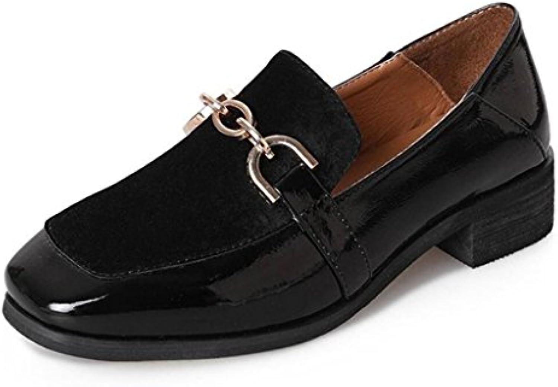 GAOLIXIA Damen Damen Klassische Leder Schuh Frühling Sommer Britischen Stil Schuhe Bequeme Freizeitschuhe