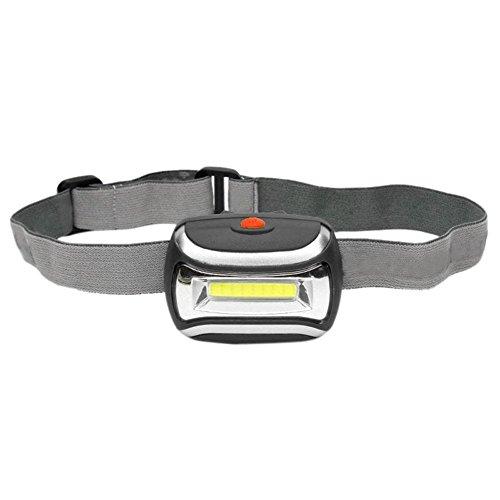 Alexsix 800LM 3 W Cob LED-Scheinwerfer, zur Akampa von Scheinwerferrönen, die von der Lampe Fackeln, Schwarz