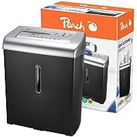 Peach PS500-20 Strip shredding 74dB Black,Silver paper shredder - Paper Shredders (Strip shredding, 22 cm, 16 L, 74 dB, 2 min, 2200 mm/min) -  Confronta prezzi e modelli
