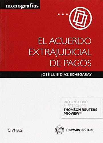 Acuerdo extrajudicial de pagos,El (Monografía)
