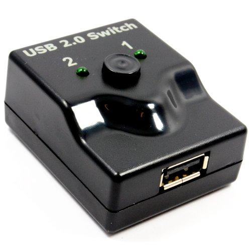 USB 2,0 Handbuch Umschalter Schalthebel 2 Wege -