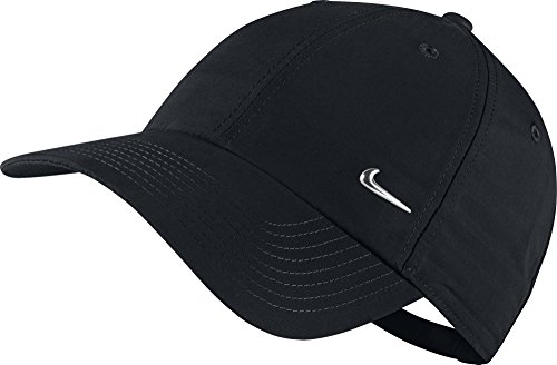 nike-cap-metal-swoosh-logo-schwarz-silber-one-size-340225