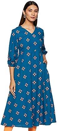 Amazon Brand - Myx Women's Regular Kurta D