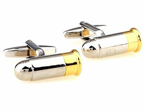 korpikus®ColoreSilver&Gold' Proiettile 'temaacciaioinoxGemelliInliberoregaloBag