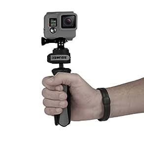 Xsories Quickpod Dual - Trépied de table pour Appareil Photo Numérique et Caméras d'action (GoPro) Gris