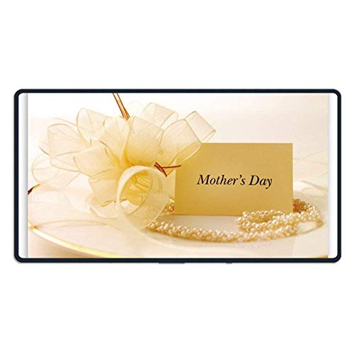 ASKSSD Large Mouse Pad Mothers Day Card Computer Mouse Mat