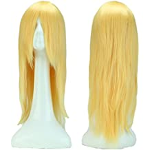 60cm de 100cm Cosplay peluca largo Carnaval peluca Straight Synthetic Wig pelo artificial Anime Günstig
