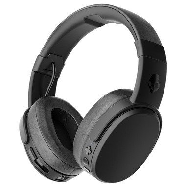 Skullcandy Crusher Bluetooth Wireless Over-Ear Headphone with Mic - Black Best Price and Cheapest